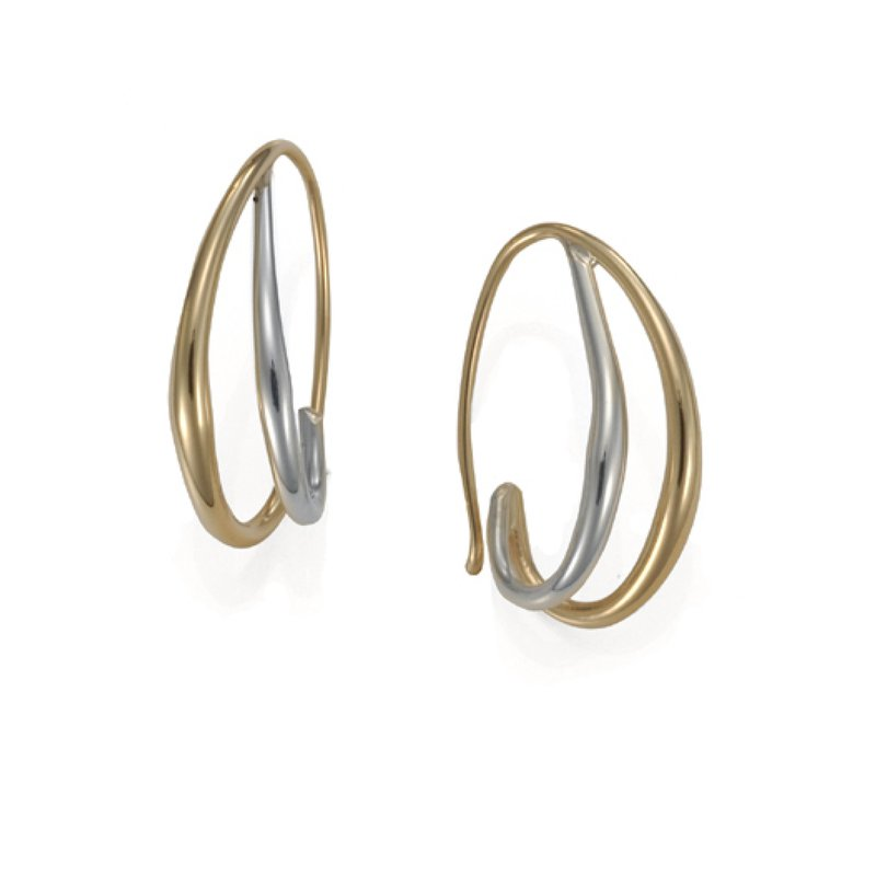Duo earrings