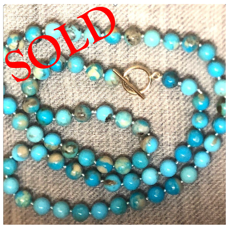 Small Blue Beads