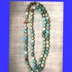 Arkansas Turquoise Boutique Long strand