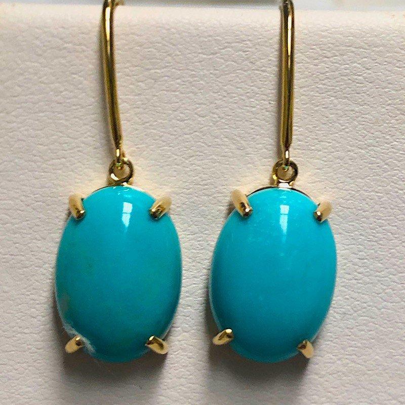 Arkansas Turquoise Boutique Medium Oval