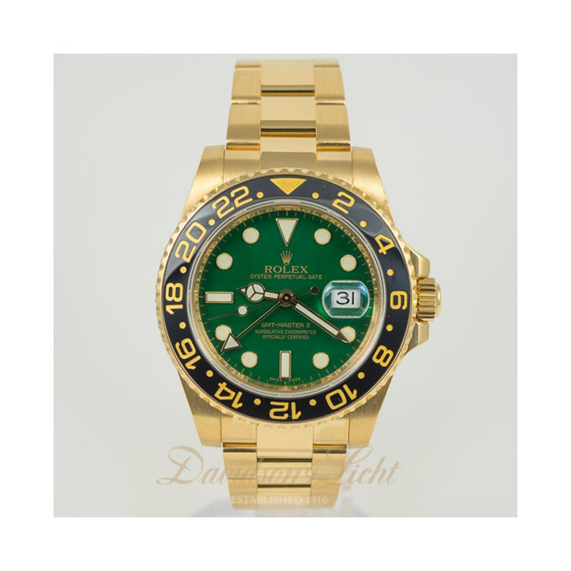 Pre-Owned Watches Rolex GMT-Master 2 116718LN