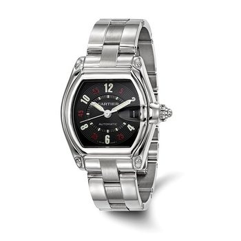 : Certified Pre-Owned Cartier Gents Roadster Stainless Steel Automatic