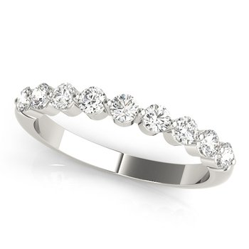 0.50ctw. Diamond Anniversary Wedding Stackable Ring Band