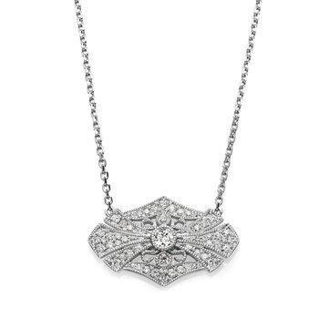 - 1/4ct. Round Diamonds 14k Gold Chain Necklace