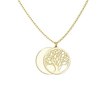 - Tree Of Life 32mm Customized Engravable Photo Picture Swivel Locket