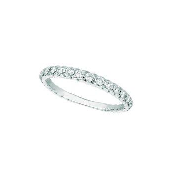 14K Gold 0.36ctw. Diamond Anniversary Wedding Band Ring