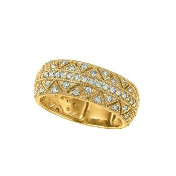 14k Gold 0.75ctw. Diamond Anniversary Wedding Band