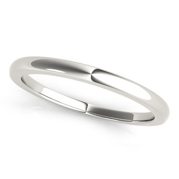 Stackable Classic Plain Wedding Band Ring