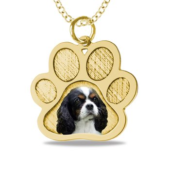 - Paw Dog Picture 17x24mm Customized Photo Picture Pendant