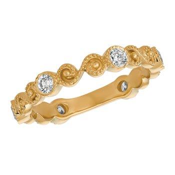 14k Gold 0.45ctw. Diamond Anniversary Wedding Band Ring
