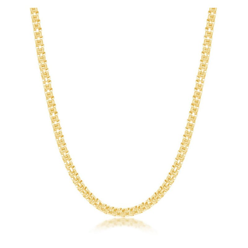 """Fashion Jewelry Collection  - Sterling Silver 3mm Round Coreana Adjustable Chain Necklace - 17"""""""