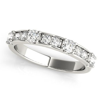 5/8ctw. Diamond Anniversary Wedding Stackable Ring Band