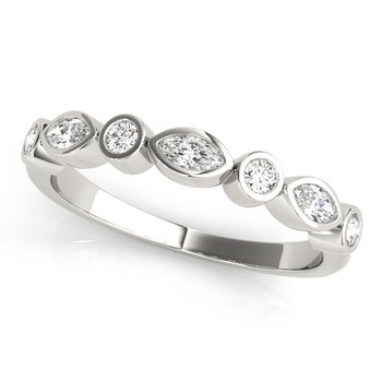 1/3ctw. Diamond Anniversary Wedding Stackable Ring Band
