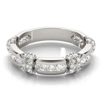 3/8ctw. Diamond Anniversary Wedding Stackable Ring Band