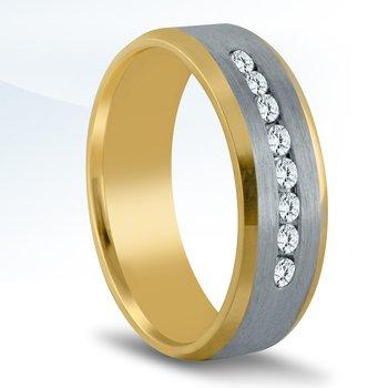 - 1/3Ctw. Round Diamonds 7mm Unique & Trending Wedding Band