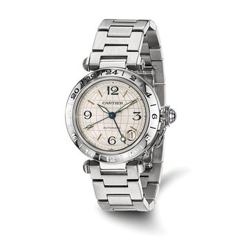 : Certified Pre-Owned Cartier Gents Pasha-C Stainless Steel Automatic