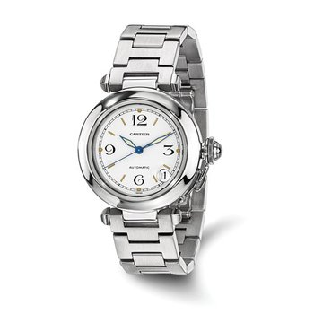: Certified Pre-Owned Cartier Unisex Pasha-C Stainless Steel Automatic