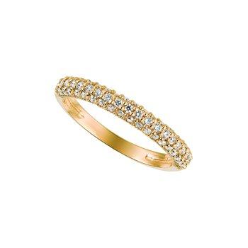14K Gold 0.50ctw. Diamond Anniversary Engagement Wedding Band Ring