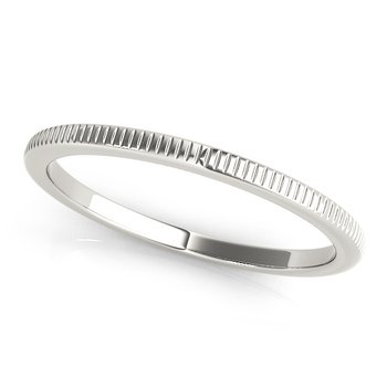 Stackable Wedding Band Ring