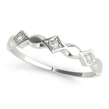 1/20ctw. Diamond Anniversary Wedding Stackable Ring Band