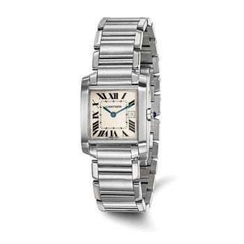 : Certified Pre-Owned Cartier Midsize Tank Francaise Stainless Steel Quartz