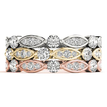 0.25ctw. Diamond Anniversary Wedding Stackable Ring Band
