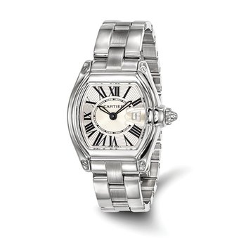 : Certified Pre-Owned Cartier Ladies Roadster Stainless Steel Quartz