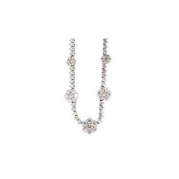 """2 3/4CTW Diamond Necklace 16"""""""