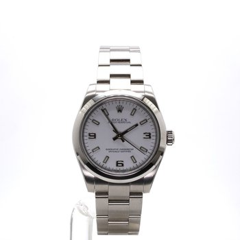 Stainless Steel White Dial Sport - Ladies Large Case