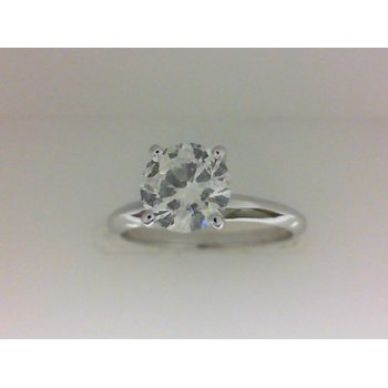 1.02 Carat Round Solitaire Engagement Ring