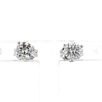 1/2ct Diamond Stud Earrings