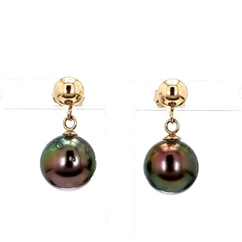 14KY Tahitian 8MM Pearl Earrings