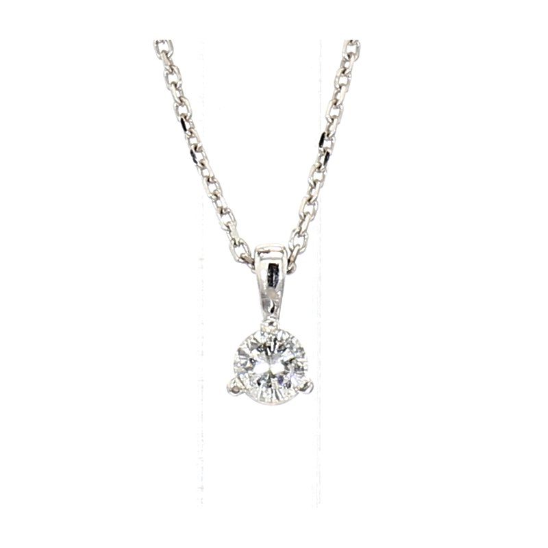 .10 Carat Diamond Solitaire Pendant