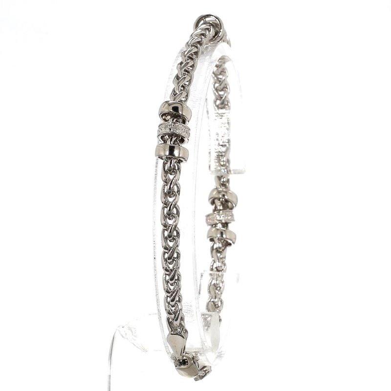 .10CT Diamond Rondel Chain Bracelet