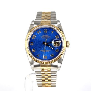 18K & Steel Royal Jubilee Dial DateJust Mid Sized