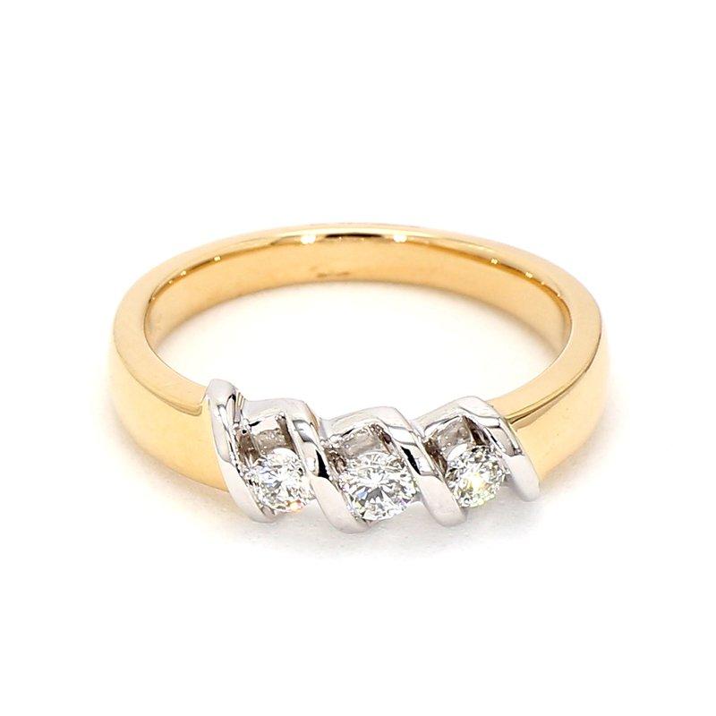 1/3ct Diamond 3 Stone Ring