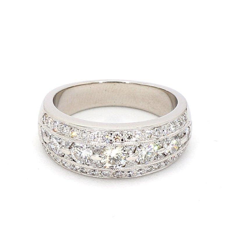 JB Star Diamond Wedding Ring