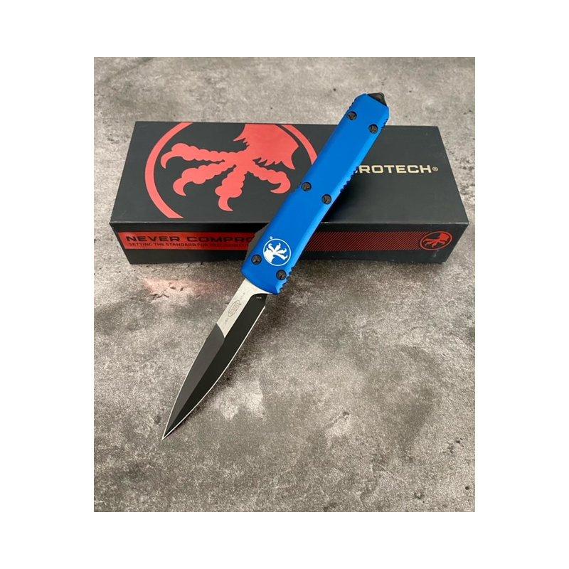 Ultratech Bayonet Grind Blue Standard Knife.