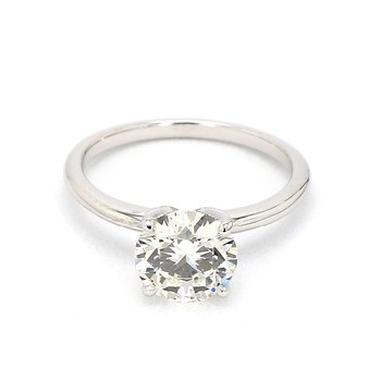 2ct Laboratory Grown Solitaire Diamond Engagement Ring