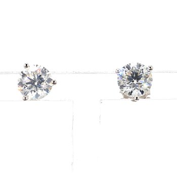 1 1/2ct Diamond Martini Style Stud Earrings