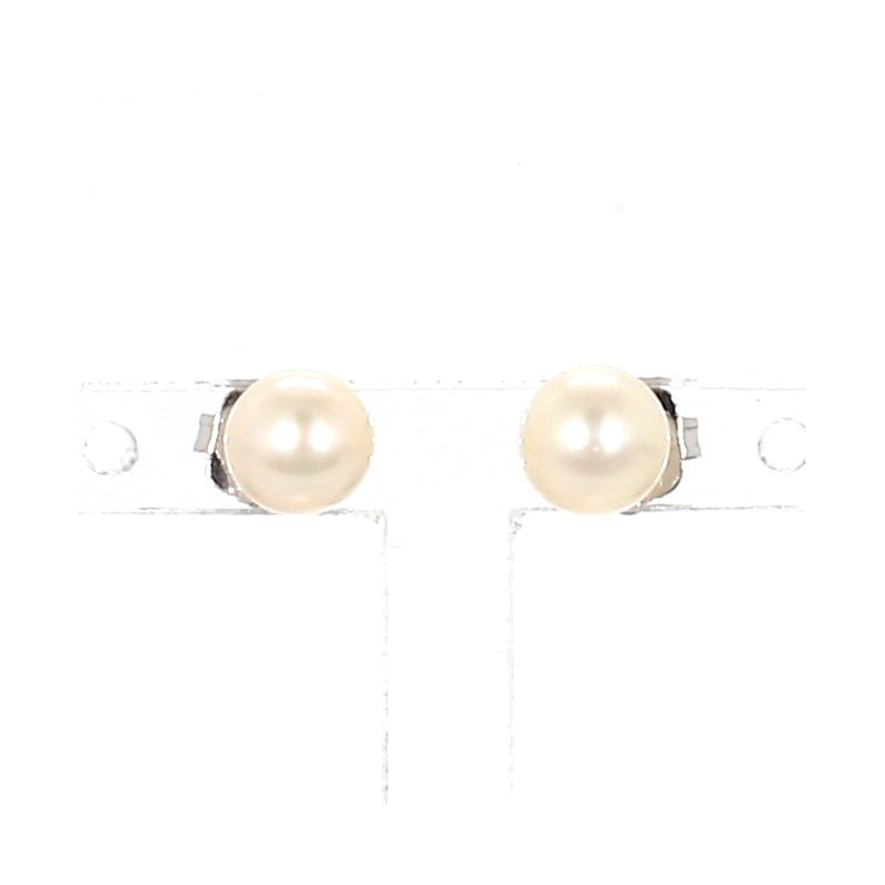 Freshwater White Pearl Earrings