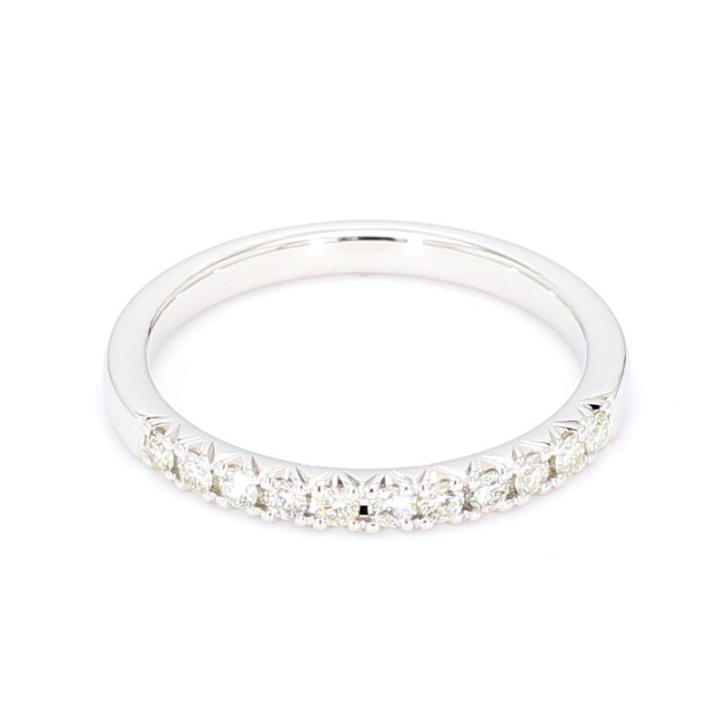 1/4ct French Set Diamond Band