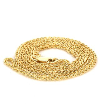 "20"" 1.5mm Wide Wheat Chain"
