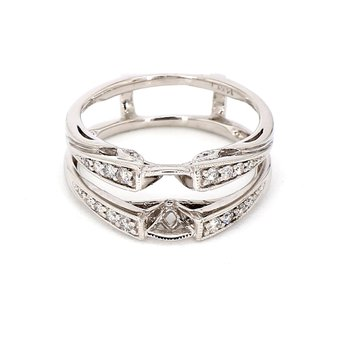 .15ct Diamond Ring Guard Size 6.5