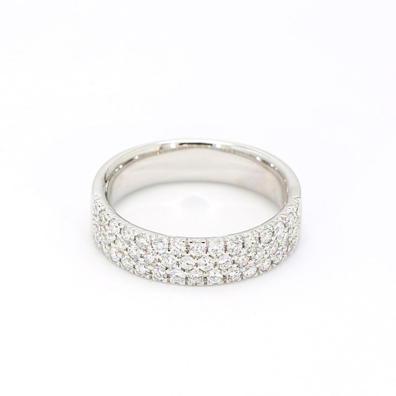 .73 Carat Diamond Wedding
