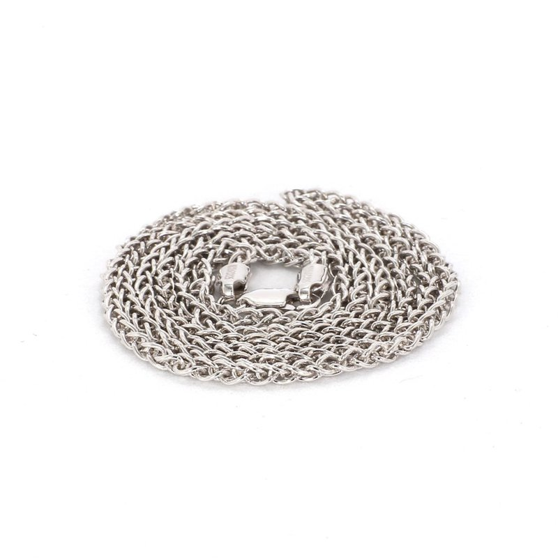 """Sterling Silver 2.25MM Wheat Chain 16"""""""