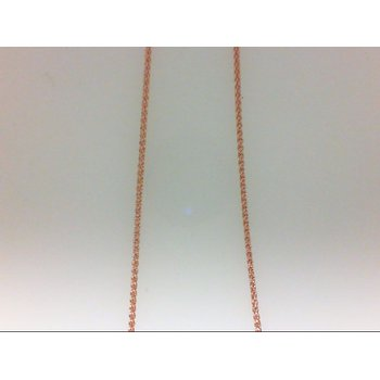 14 Karat Rose Gold Wheat Chain