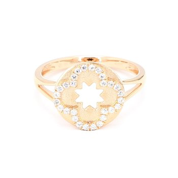 .17 Carat Rose Gold Diamond Ring