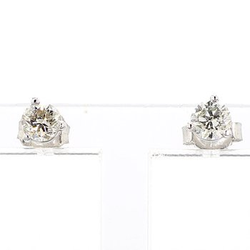 1/2ct Diamond Earrings