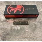 Microtech UTX-70 D/E - Carbon Fiber - Bronze Damascus Blade - Signature Series